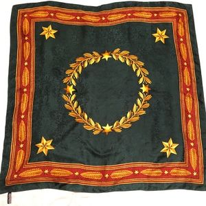 Ellen Tracy large silk scarf